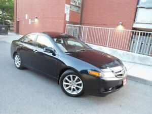 2007 ACURA TSX , LOADED , LEATHER , SUNROOF , ALLOY WHEELS !!!