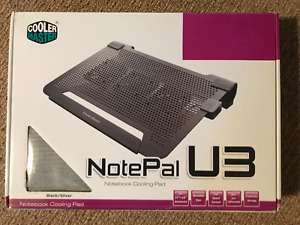 Cooler Master NotePal U3 Laptop Cooling Pad with Three Fans