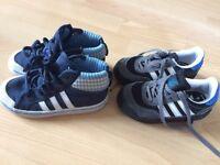 Boys adidas trainers size 7&8