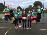 Come and join our social netball leagues! All abilities welcome!
