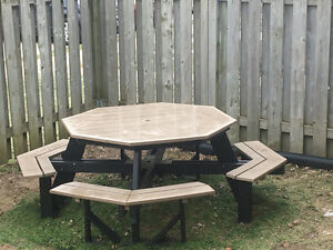 Octagon Picnic Table - $1200.00