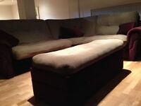 divan de coin avec futon