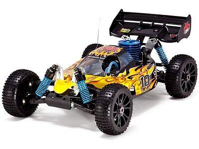 - 1:8 Hurricane XTR RC Nitro Buggy 4WD Off Road Remote Control 2.4GHz New