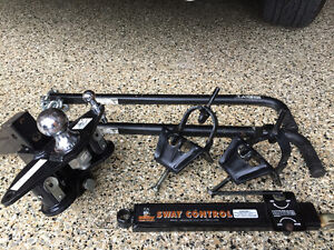 attelage Husky complet Weight distribution hitch sway control