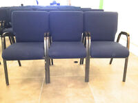 High Quality Chairs w/ Interlock technology