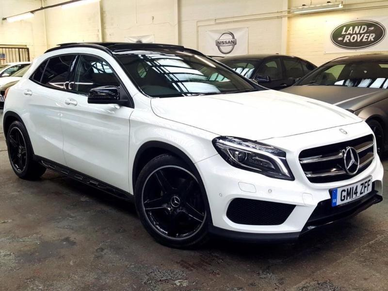 2014 mercedes benz gla class 2 1 gla220 cdi amg line premium plus suv 5dr in basford. Black Bedroom Furniture Sets. Home Design Ideas