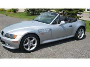 1997 BMW z3 silver 2.8L new top and tires never winter driven