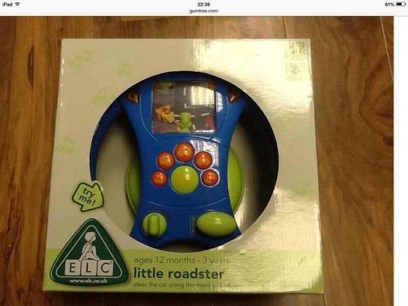 Baby Toy - ELC Little Roadster, brand New, unopened still in box