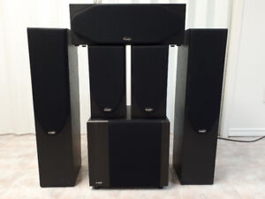 David HTS D-Box Stereo Surround Sound System w/ Subwoofer
