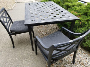 Price Reduced! Sturdy Great Condition Metal Patio Set