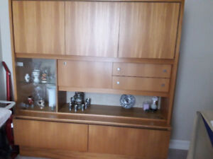Teak living room cabinet in excellent condition