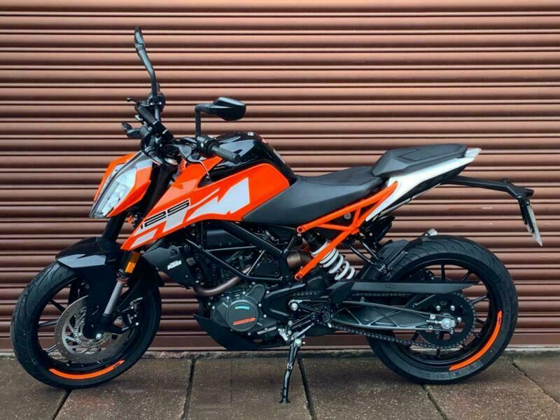 KTM Duke 125 ABS 2018  Only 934miles  Nationwide Delivery Available  | in  Stafford, Staffordshire | Gumtree