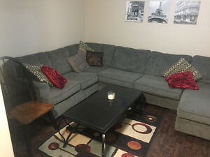 Fully furnished basement to rent