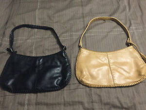2 leather purses. ALDO