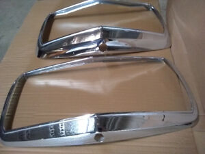 MERCEDES AMG W116 CHROME HOOD GRILLS