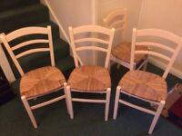 Kitchen chairs qty 4