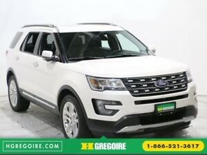2017 Ford Explorer Limited 4WD MAGS GR ELECT BLUETOOTH CUIR TOIT