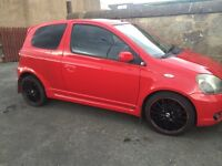 Toyota Yaris T Sport with one years MOT £800 SWAP FORD TRANSIT