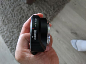 Metabones Canon EF to E-mount T Lens Adapter