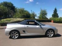 MG TF 1.8 CONVERTIBLE Cool Blue + 12 MONTHS + 42k + 13 STAMPS + 2 LADY OWNERS