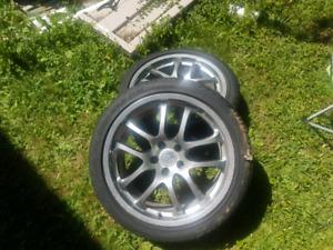 2 Michelin Pilot Sport plus tires  245/40/19