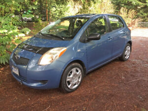 Toyota Yaris 2007, accident-free ultra-reliable little gas-miser