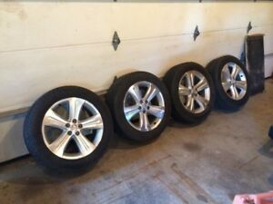Toyota highlander alloy wheels and tires