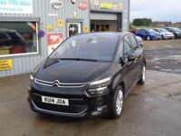 2014 14 CITROEN C4 PICASSO 1.6 E-HDI AIRDREAM EXCLUSIVE PLUS 5D 113 BHP DIESEL