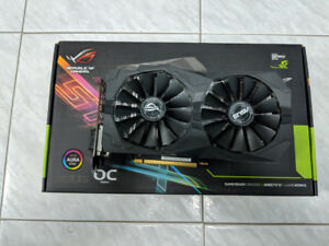 Asus ROG 1050ti video card