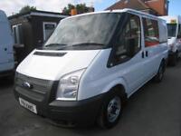 Ford Transit 2.2TDCi ( 100PS ) ( EU5 ) 280S Low Roof DOUBLE CAB CREW VAN COMBI