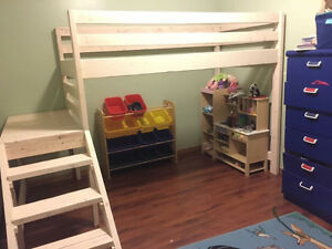 KIDS Twin Loft Bunk Bed