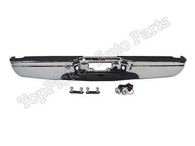 For 97-03 FORD F150 F250 LD STYLESIDE STD/EXT CAB REAR STEP BUMPER ASSY CHROME 03 Ford F150 Step Bumper