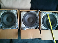 Bass cabinet subwoofers, a Scorpion, and a Replacement Diaphragm