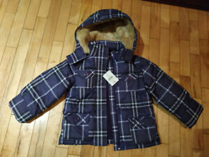 Brand new! Snow coats size 5T