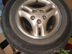 4 Toyo summer tires with mags 215-70r15 - $220