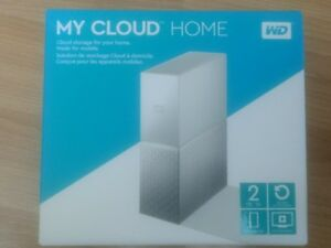 MY CLOUD HOME  2TB External Hard Drive