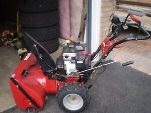 Sear's Craftsman snowblower Excellent cond. $675 9.5 hp 27'