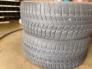 2 235/45/17 himalaya ws2 winter tires in great condition 8/32nd