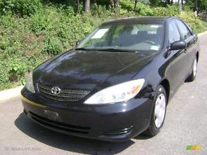 2003 Toyota Camery standard