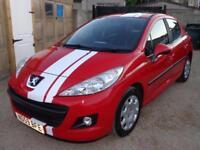 2009 Peugeot 207 S 1.4 Petrol 5 Door in Red FSH FREE Warranty & 12 Months MOT