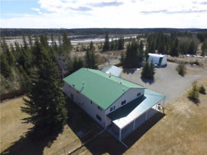 Amazing house on 5 acres within the town of Sundre