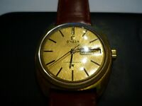 18K Solid Gold Vintage Omega Constellation Dial & Case