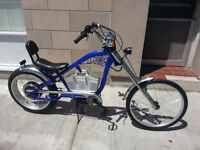 NEW E-Rider Chopper  500W / 48V Electric Bicycle w pedal assist