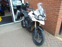 2015 (15) TRIUMPH TIGER 1200 EXPLORER - INCLUDES 3 PART LUGGAGE