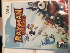 Rayman origins Wii/WiiU game