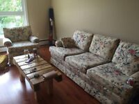 Great condition, perfect deal couch and chair
