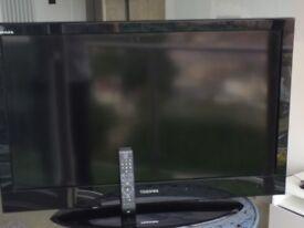 "TOSHIBA REGZA 40"" LCD DIGITAL FREEVIEW TV"