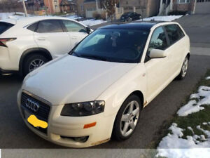 2006 Audi A3 low km selling as is