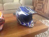 Kids motocross helmet