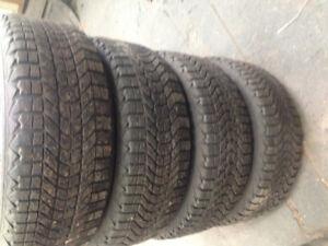 215/55/17 firestone winterforce tires